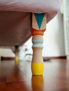 DIY new furniture legs for little kid's room!