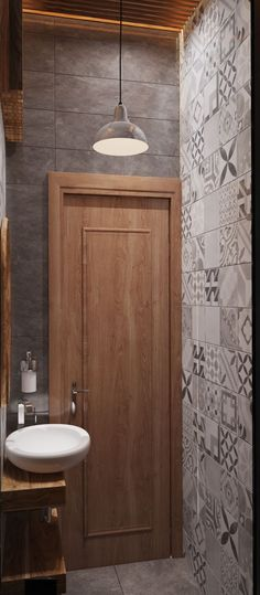 badezimmer waschbecken schrank pflanze spiegel Ванная комната - schränke für badezimmer