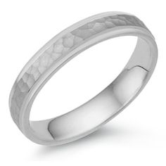 4mm Platinum Hammered Wedding Band White Gold Jewelry, Wedding Bands, Lord, Engagement Rings, Bracelets, Silver, Accessories, Watches, Yellow