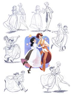 Dance Dance Two by otherwise on @DeviantArt