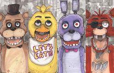 Five Nights At Freddy's by ChrisOzFulton.deviantart.com on @deviantART