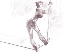Catwoman by Claire Wendling