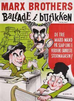 Mars Brothers Danish poster