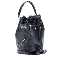 giant carly leather shoulder bag balenciaga