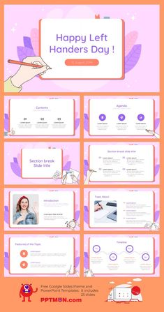 International Left Handers Day Free PowerPoint Template and Google Slides Theme – presentation by PPTMON Features: 25+ Creative Design-IDEA Multi-purpose Presentation For PowerPoint templates and Google slides themes #LeftHandersday,#PPTtemplate#PPT#PowerPoint#presentation#FREEPPTTEMPLATE, #PPTDESIGN, #POWERPOINTDESIGN, #PPTTEMPLATEDOWNLOAD, #POWERPOINTTEMPLATE, #GOOGLESLIDES, #GOOGLESLIDESTHEME, #GOOGLEPRESENTATION, #FREEPOWERPOINTBACKGROUND, #PRESENTATIONDESIGN…