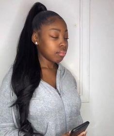 Pretty Long Wavy Casual Hairstyles Lace Front Wigs 100% good quality hair #vshowhair #bodywave #hairstyles #weave #wavy #haircolor #hairidea #blackgirlmagic #hairstyles #humanhair #virginhair #blackwomen #entertainment #fashion #styles #wedding #makeup #skincare #dress #haircare