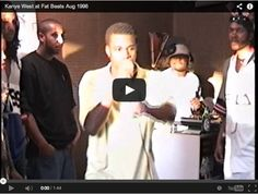 A 19 y/o Kanye freestyles and KILLS IT!