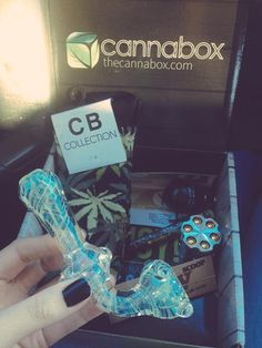 Cannabox of monthly goodies