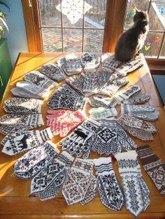 More traditional Norwegian knitting patterns