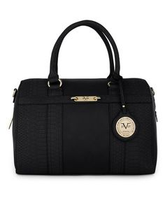 908b8617aa92 Another great find on  zulily! Black Madison Satchel  zulilyfinds Womens  Purses
