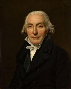 'Portrait of Jean-Pierre Delahaye,' (1815) - Jacques-Louis David (Los Angeles County Museum of Art).