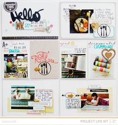 Week 27 using Studio Calico Mark & Co kits
