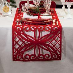 Caminos de mesa para fin de año Red Christmas, Xmas, Chair Covers, Decorative Boxes, Quilts, Table Decorations, Diy, Furniture, Home Decor
