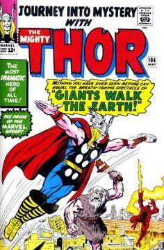 Journey into Mystery Vol 1 104. Por Jack Kirby, Chic Stone, Stan Goldberg y Artie Simek. #Thor #JackKirby