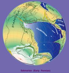 Map of the world in the Permian era - Wikipedia
