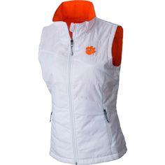 Columbia Women's Clemson Tigers Orange Fuller Ridge Fleece Jacket, Team