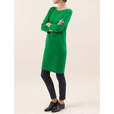 Buy Hobbs Nancy Dress, Grass Green Online at johnlewis.com