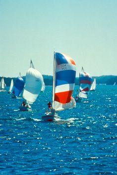 Sailing On Lake Lanier