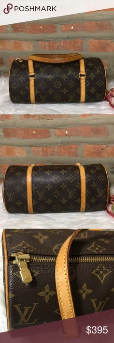 f263215b0a9cf 🌟authentic louis vuitton bag Excellent condition 🌈some chip in the zipper  and some water marks in the handle 🌈no odor 🌈dimensions  x x w  🌈authenticated ...