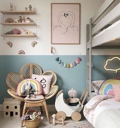Toy Pram My Sunday checklist:⠀ ☑️do nothing and chill⠀ Thank you for sharing this beautiful interior ! ⠀ The post Toy Pram appeared first on Woman Casual - Kids and parenting Childrens Room Decor, Baby Room Decor, Room Baby, Scandinavian Kids Rooms, Scandinavian Interior, Ideas Habitaciones, Pram Toys, Dolls Prams, Baby Room Design
