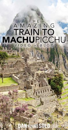 Taking the train from Cusco or Ollantaytambo to Machu Picchu is one of the most incredible journeys in the world. Passing mountains, rivers, and Inca ruins don't miss this when you visit Peru!