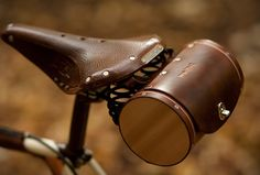 Bike Seat Barrel Bag By WalnutStudiolo