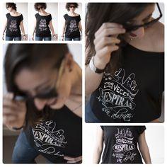 """camiseta Lil'O """"la vida no se mide"""" #quenadietedigahastadonde #camisetas #ropaconmensaje #ropacasual #modacasual #lilomola www.lilomola.com"""