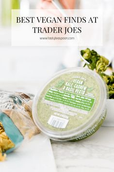 Trader Joe's has been upping its vegan game. This list contains my go-to favorite Vegan Trader Joe Products that will ensure that you never miss a snack! The post Best Vegan Trader Joes Finds appeared first on Tasty Teaspoon. Vegan Food List, Vegan Snacks, Vegan Recipes, Healthy Food, Healthy Eating, Trader Joes Vegan, Trader Joes Food, Trader Joe's, Best Trader Joes Products