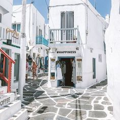 eljay. ☆ graphic designer (@eljay.smith) • Instagram photos and videos Mykonos Greece, Greek Islands, Looking Gorgeous, Will Smith, Happy Friday, Are You Happy, Street View, Graphic Design, Photo And Video