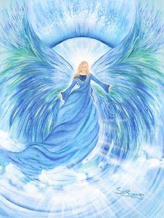 Raguel (Angel of God) Oversees other angels ---- Raguel (Engel Gottes) Überwacht andere Engel