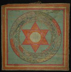 Mandala of Vajrayogini, Buddhist Deity. Buddhist Symbols, Buddhist Art, Mandala Painting, Mandala Art, Tibetan Art, Tibetan Mandala, Tantra Art, Mahayana Buddhism, Buddhist Practices