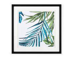 Impressions Botaniques, Decoration, Tapestry, Frame, Home Decor, Fern Plant, Impressionism, Living Room, Decor
