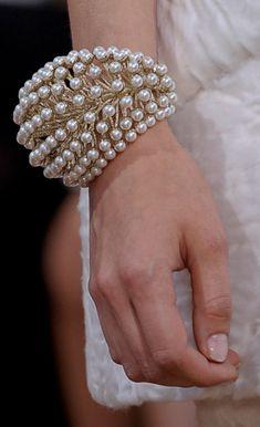 Christian Dior pearl bracelet