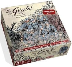 The Grizzled - board Game set in World War 1 #boardgames