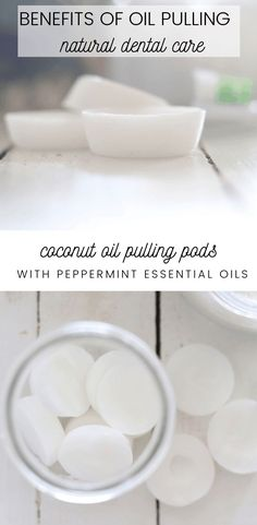 Learn the many benefits of oil pulling with coconut oil and essential oils. This natural ancient practice can remove bad bacteria in the mouth reducing bad breathe and promote healthy teeth. Care Skin Condition and Treatment Oil Makeup Coconut Oil For Acne, Benefits Of Coconut Oil, Oil Benefits, Benefits Of Oil Pulling, Health Benefits, Dental Health, Oral Health, Health Tips, Dental Care