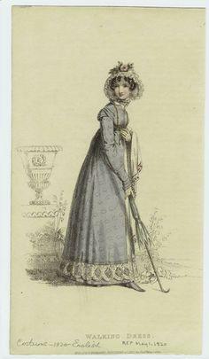 1820 Walking Dress
