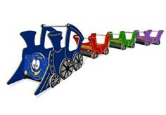 Outdoor Play Train Set available from our online shop!
