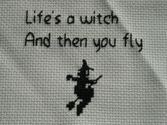 witch cross stitch