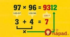 Nine simple math tricks youll wish you had always known Nine simple math tricks youll wish you had always known Why didnt they teach us these in school? The post Nine simple math tricks youll wish you had always known appeared first on School Ideas. Math For Kids, Fun Math, Math Games, Math Activities, Whole Brain Teaching, Teaching Math, Math Magic, Math Formulas, Simple Math