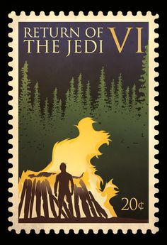 Star Wars: Episode VI - Return of the Jedi #stamp #starwars