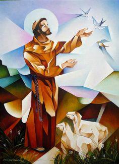 Resultado de imagen para tau franciscana paz y bien for Art mural nivelles