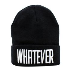 New Fashion Winter Black Whatever Beanie Hat And Snapback Men And Women Cap  Women Hat 5331dc69b54