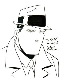 The Question Sketch by Bruce Timm