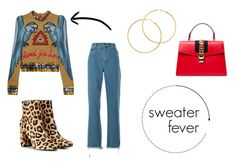 Designer Clothes, Shoes & Bags for Women Melissa Odabash, Yves Saint Laurent, Gucci, Shoe Bag, Polyvore, Sweaters, Stuff To Buy, Shopping, Collection