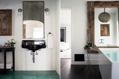 Recent Projects | Kishani Perera - tile, antique mirror