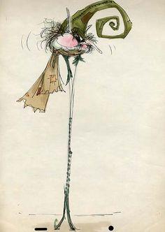 Great Swirly Hat from Tim Burton