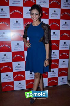 Rakul Preet Singh at the Launch of 'The Rising Stars' magazine at Magna House in Mumbai