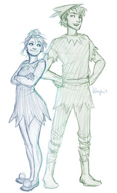 Blaire and Prosper by burdgeeee :)