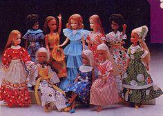 Palitoy Pippa doll Pak fashions 1977