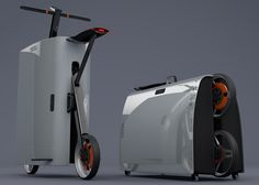 Baby, You Can Drive My Suitcase | Yanko Design